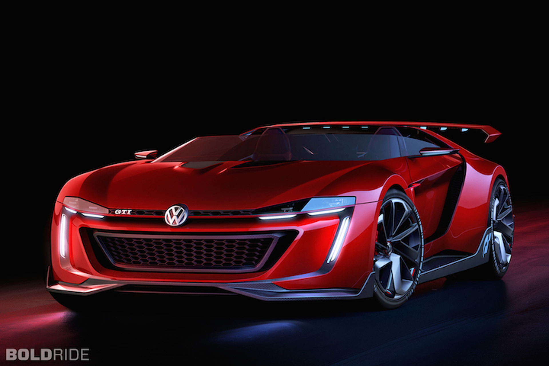VW Vision Concept Is The 500 HP GTI Roadster We Need