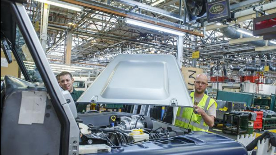 Jaguar Land Rover è diventata la più grande casa auto in UK