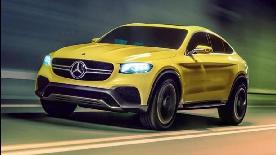 Mercedes GLC Coupè concept