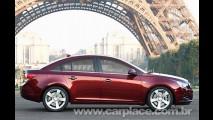 Chevrolet Cruze será vendido no Brasil - Novo modelo deve substituir o Vectra