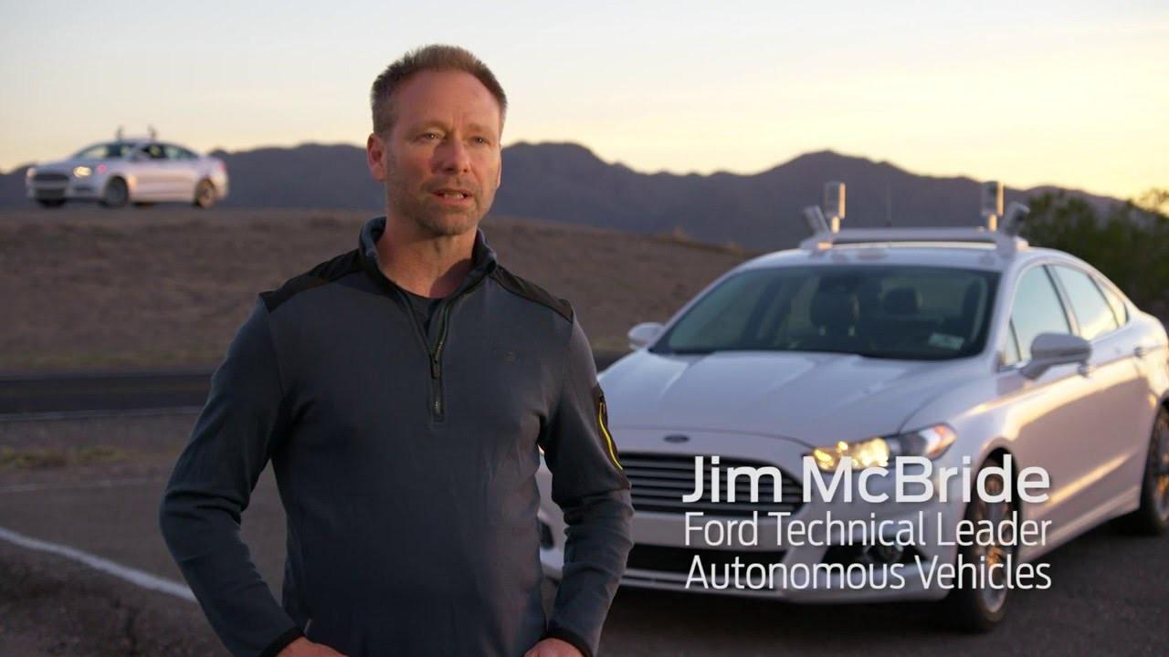 Ford otonom araştırma aracı ile gece testlerine başladı