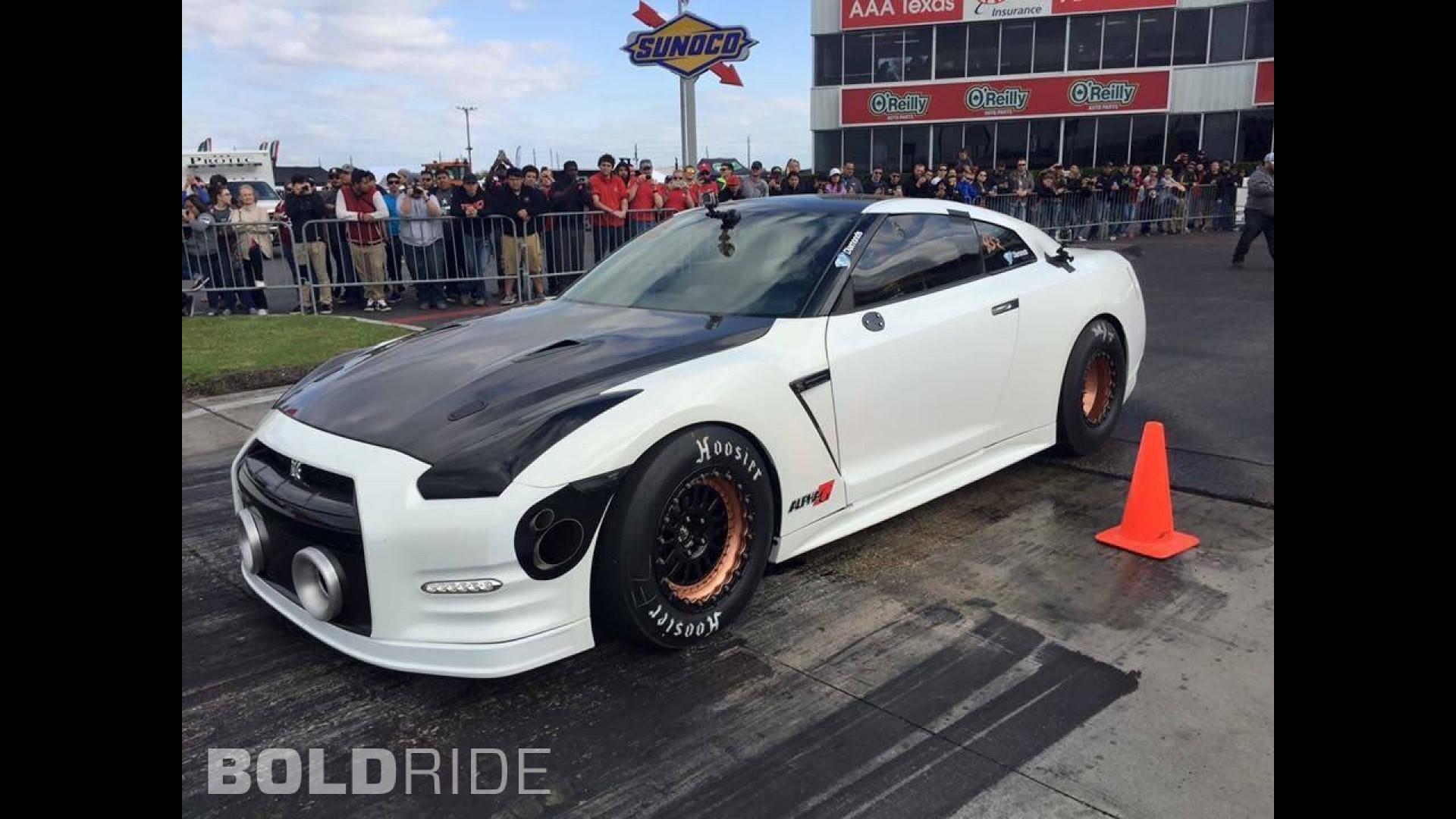 AMS Performance Nissan GT R Alpha G