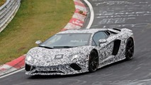 Lamborghini Aventador Refresh Spy Shots