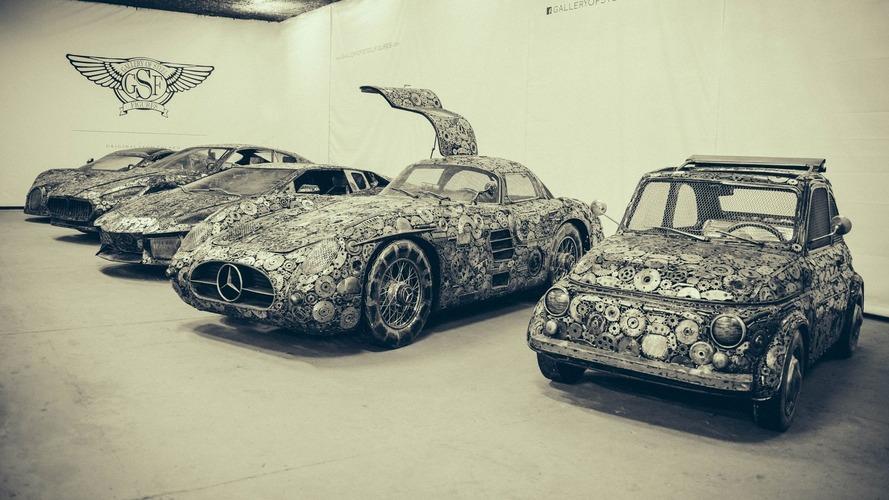 Hurdadan yapılmış süper otomobiler mükemmel görünüyor