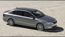 Primo do VW Passat: Skoda revela imagens oficiais do sedan Superb 2008