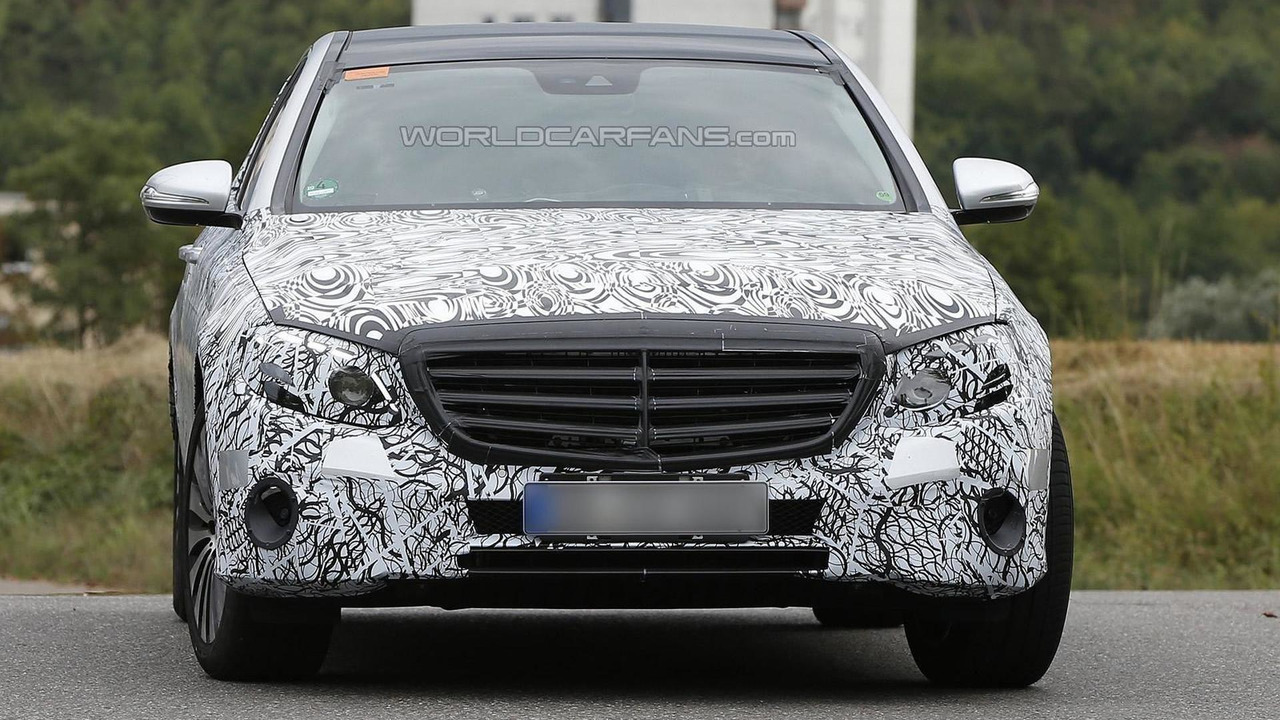 Mercedes-Maybach E-Class spy photo