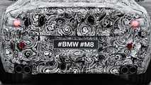 BMW M8 Camouflaged Teaser