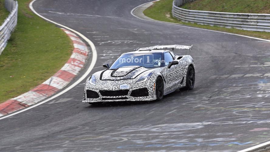 Chevy Corvette ZR1 Nürburgring'de görüntülendi