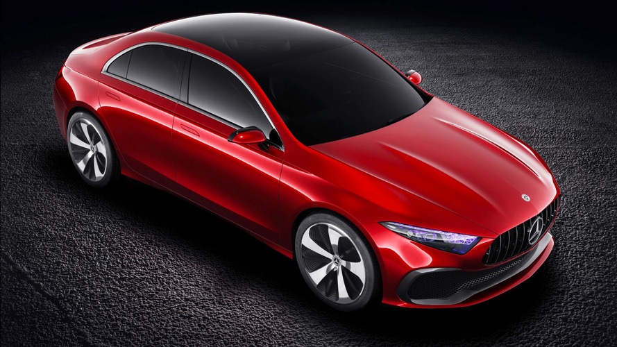 Discover The Mercedes Concept A Sedan In Trio Of Videos