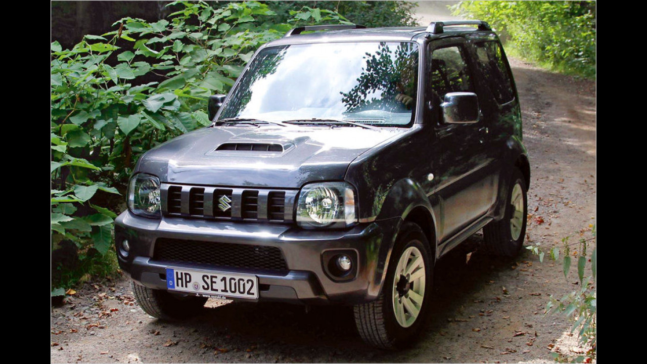 Suzuki Jimny 1.3: 15.590 Euro