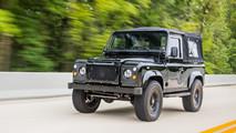 Corvette-powered Land Rover Defender 'Honey Badger'