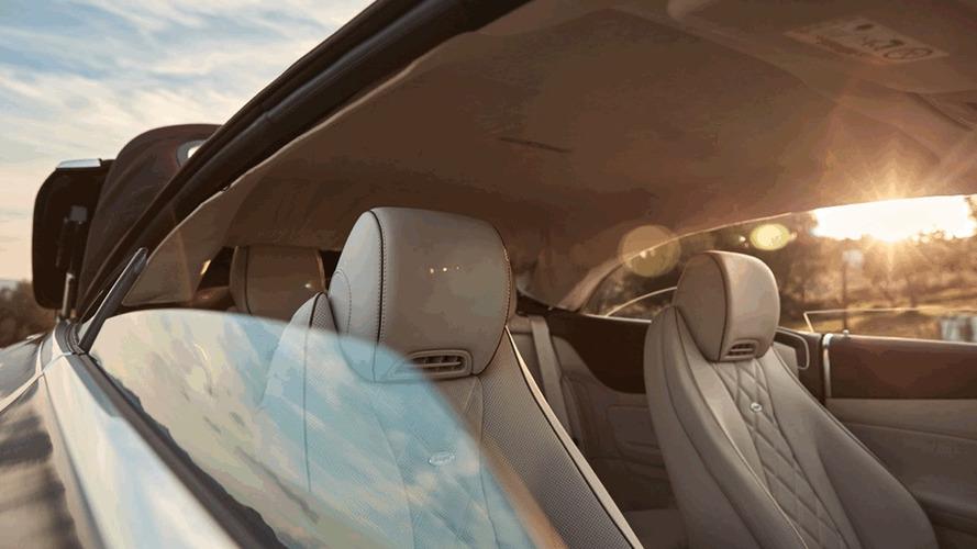 2018 Mercedes E-Class Cabriolet teaser