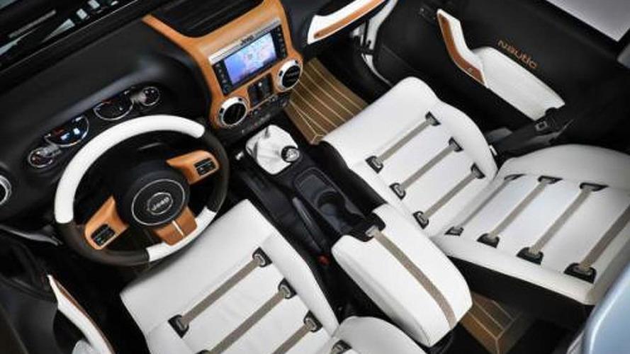 Jeep Wrangler Nautic concepts unveiled