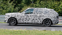 Rolls-Royce Cullinan Nurburgring Spy Photos