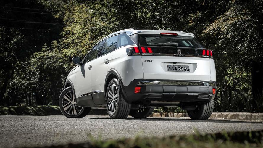 Peugeot 3008 fica mais caro na linha 18/19