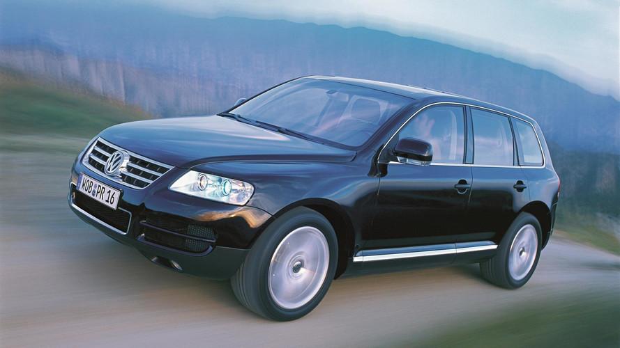 VW Touareg através dos anos