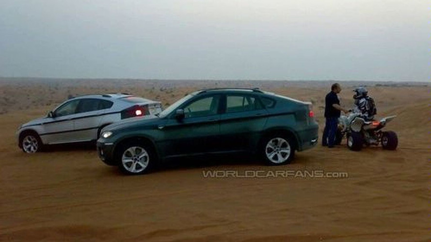 Pair of BMW X6's Shredding Sand Dunes in UAE
