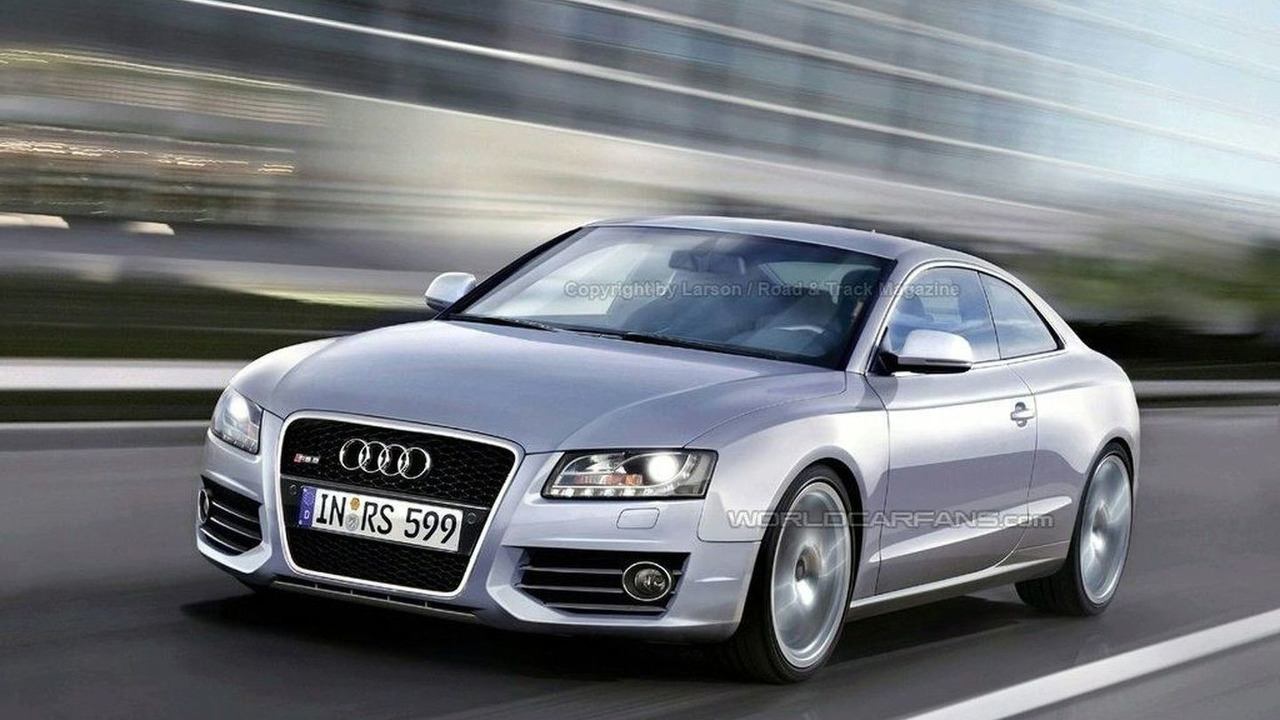 Audi RS 5 artists rendering