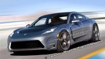 Tesla Model S Sports Sedan artist rendering