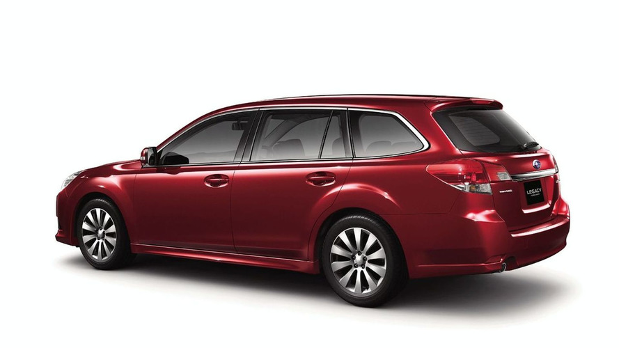 Subaru Legacy Touring Wagon Officially Revealed in Japan