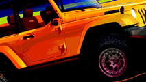 Jeep Wrangler Trail Boss design sketch 15.03.2010