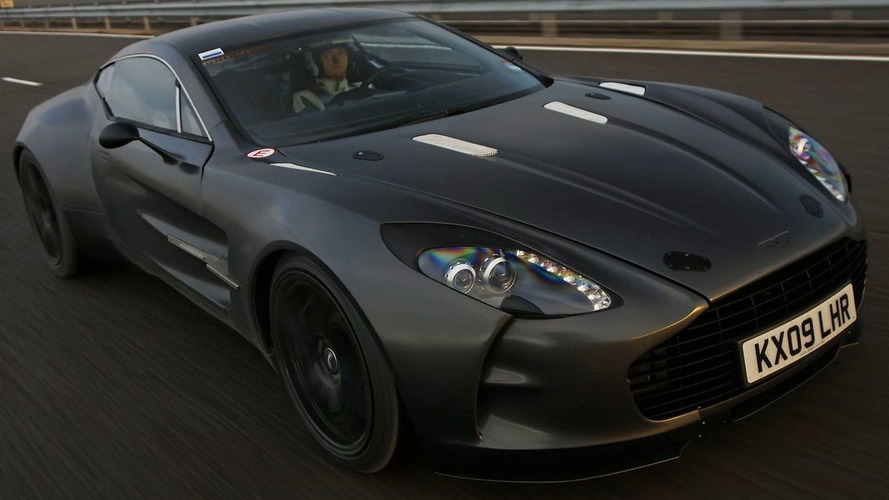 Aston Martin One-77 Hits 220mph During Development Testing