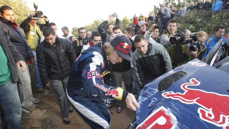 Raikkonen has no regrets as rally foray enters second year