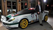 Lancia Stratos dressed in retro Alitalia guise [video]