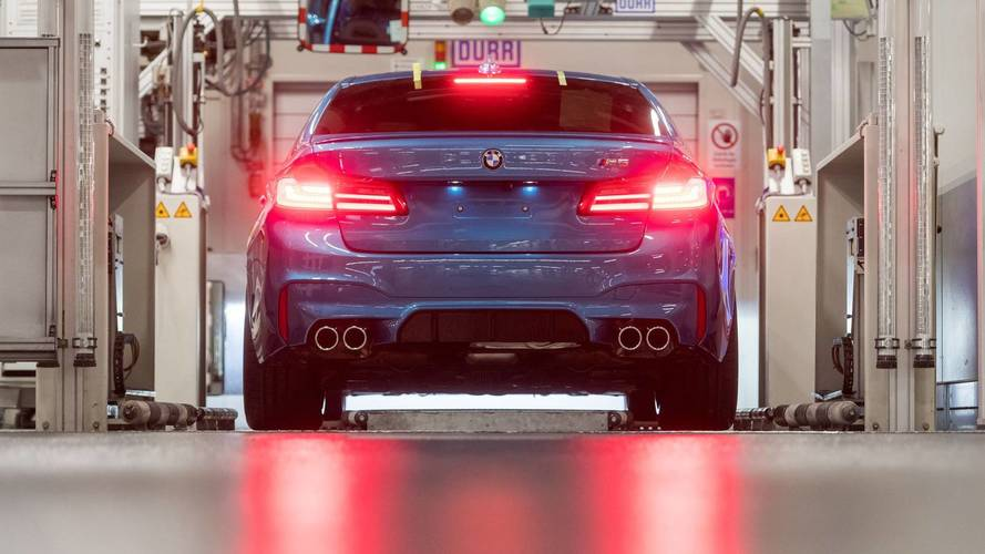 2018 BMW M5 production starts