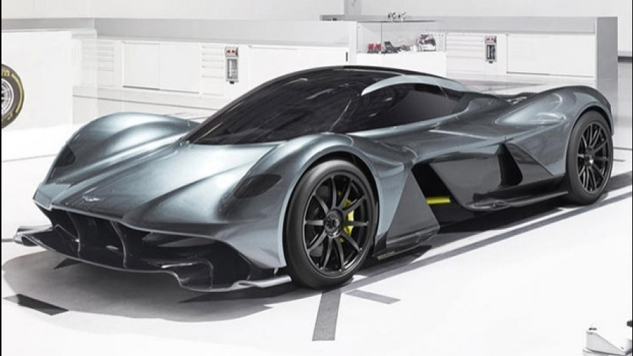 Aston Martin Red Bull AM-RB 001, vuole essere la più veloce