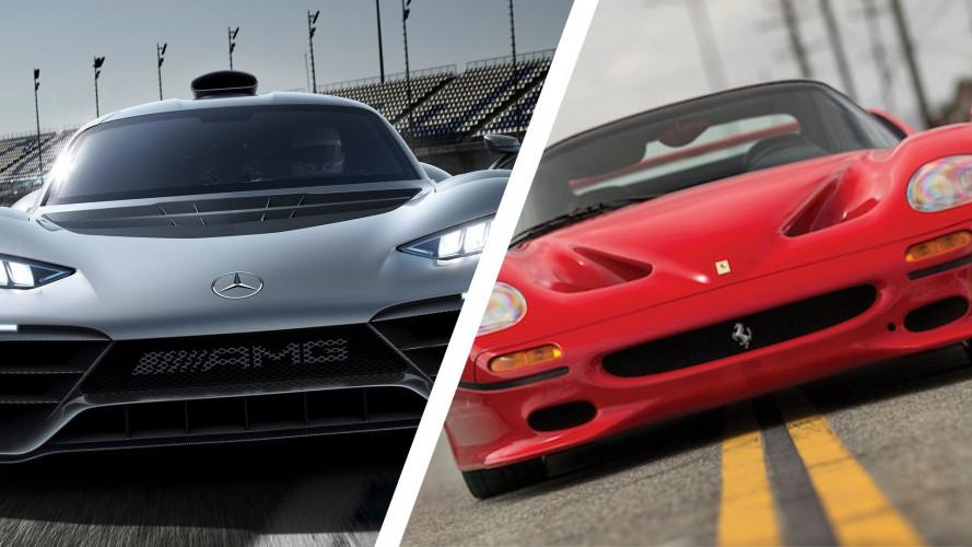 """Mercedes-AMG Project One, la """"provocazione"""" alla Ferrari"""
