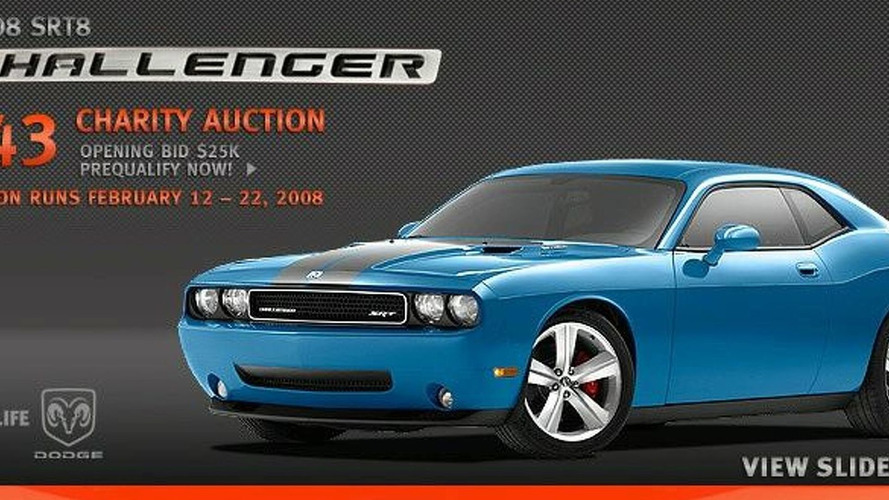 Dodge Challenger #43 Auction Started