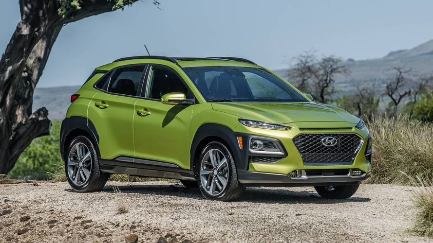 2018 Hyundai Kona Starts At Just Under $20,000