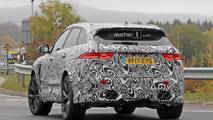 2019 Jaguar F-Pace SVR spy photo