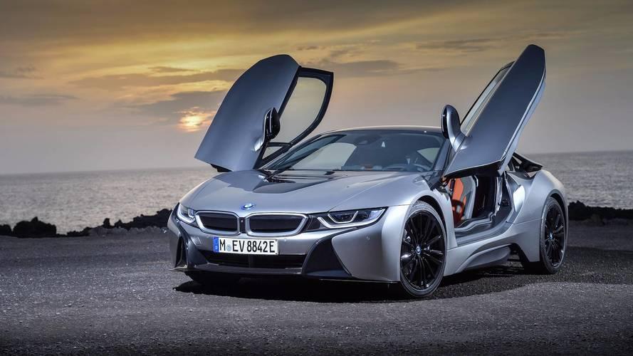 BMW i8 (2018) - Subtil repoudrage