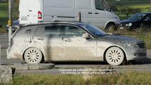 Mercedes C Class Wagon spy