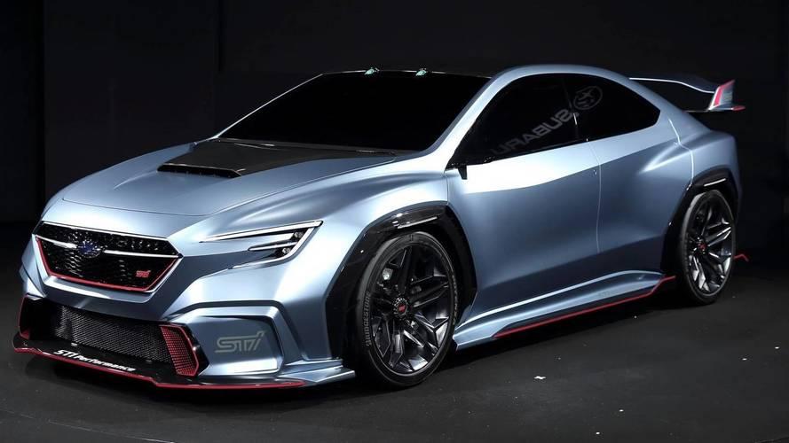 Subaru Viziv Performance STI Concept Looks Fast Standing Still