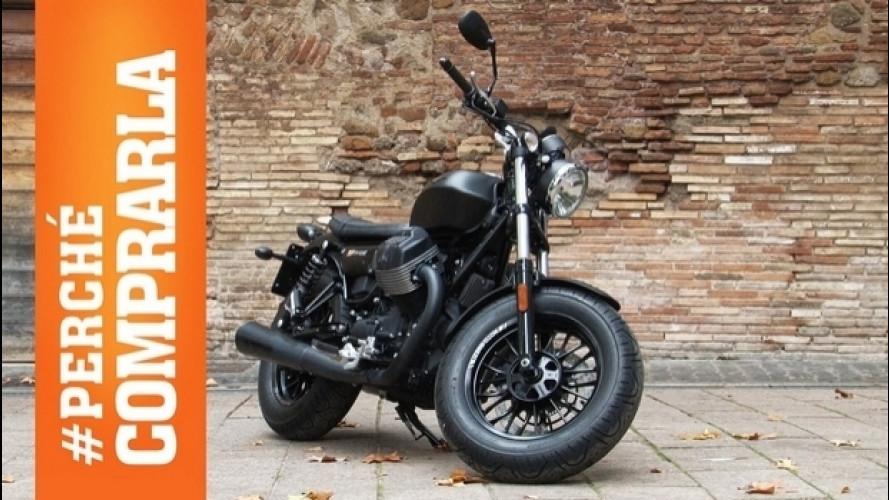 Moto Guzzi V9 Bobber, custom all'italiana