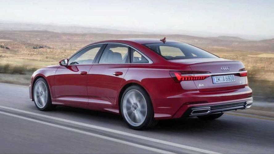 2018 Audi A6'nın Sızdırılan Resmi Tanıtım Görüntüleri (doğrulanmadı)