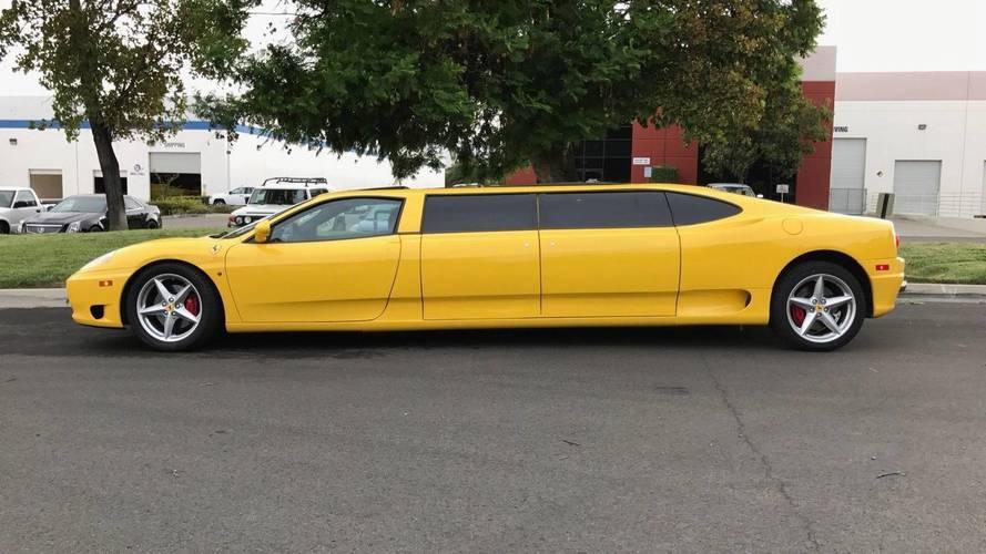 Ferrari 360 limuzin eBay'de satılamadı