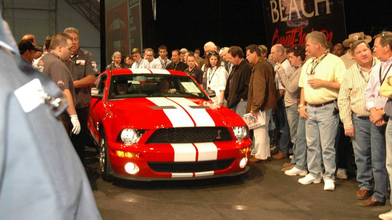 7. 2007 Shelby GT500 - $600,000