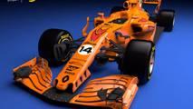 Render monoplaza McLaren Renault 2018