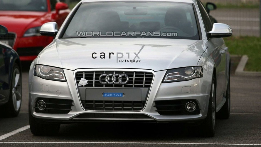 Production Ready Audi S4 Spied