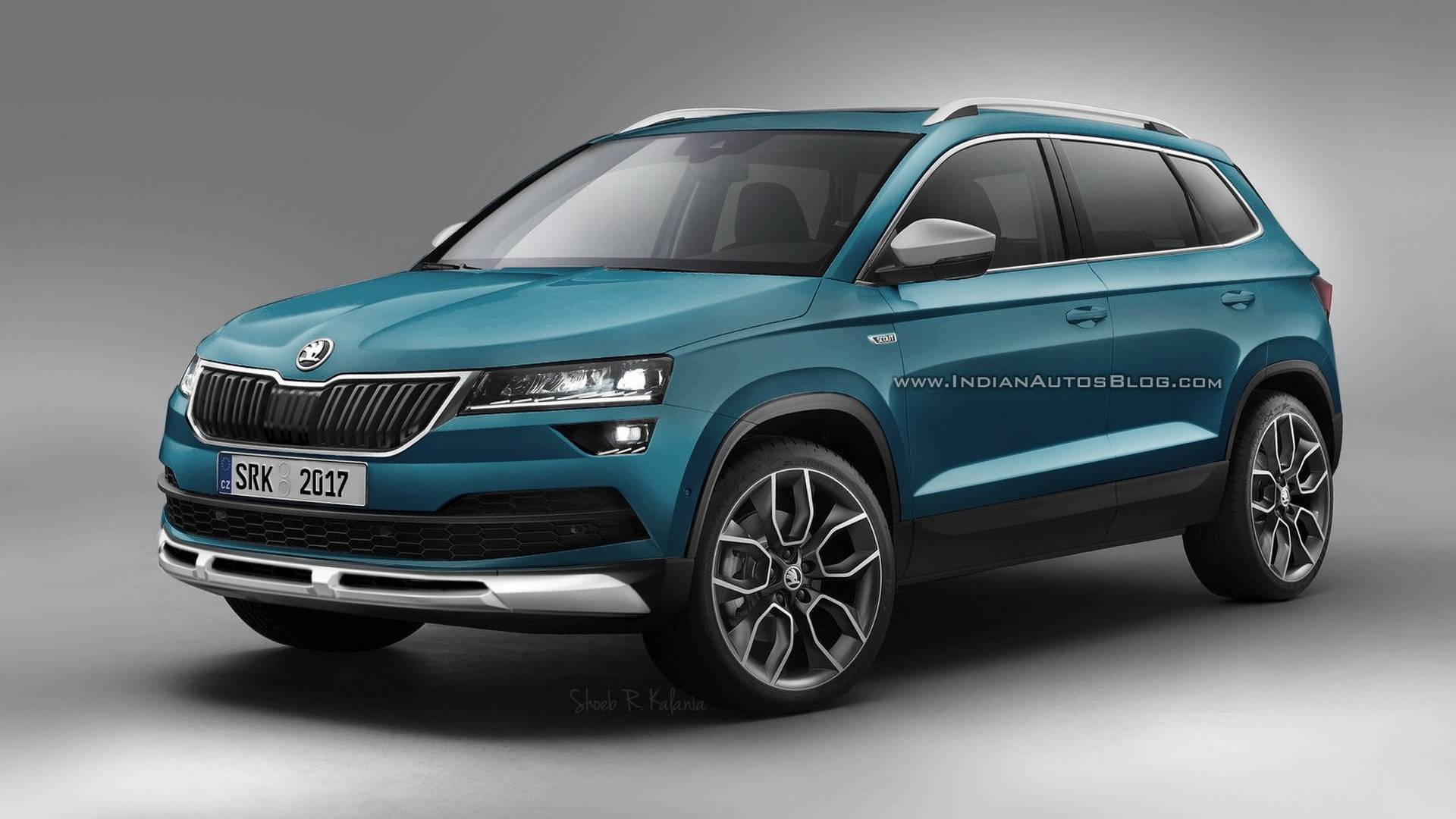 Skoda Karoq Scout, Sportline Renders Are Probably Highly ...