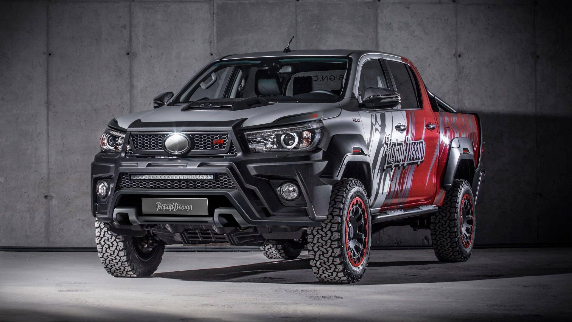 Toyota Hilux Kini Jadi Pickup Mewah Berkat Sentuhan Carlex Design