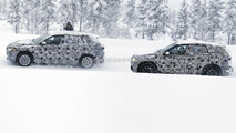 2016 BMW X1 five-seater & seven-seater spy photo