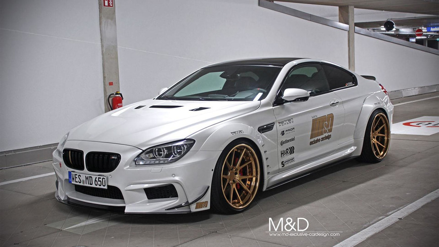 M&D tunes the BMW 6-Series Coupe
