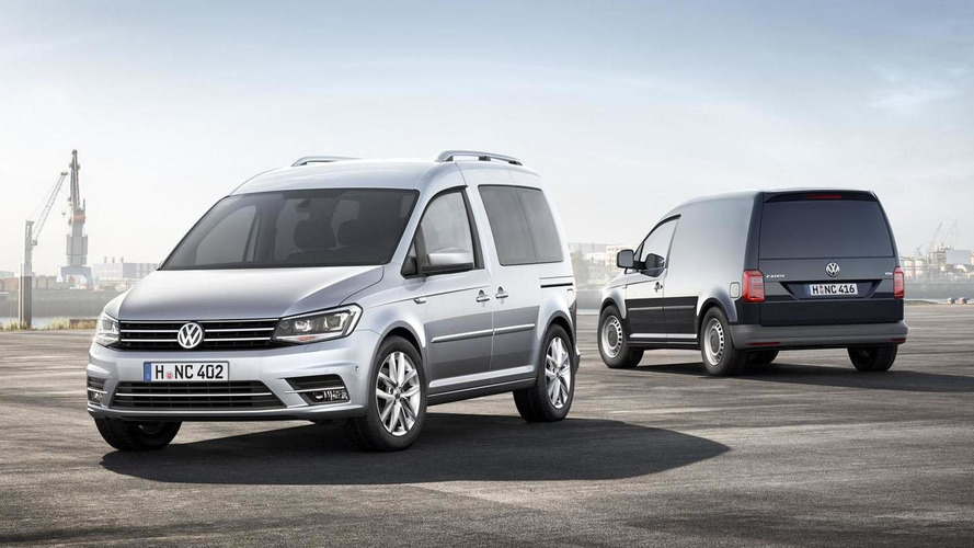 2015 Volkswagen Caddy unveiled