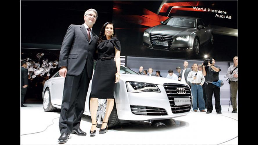 Mehr Kunst in der Realität: Die Show zum Audi A8