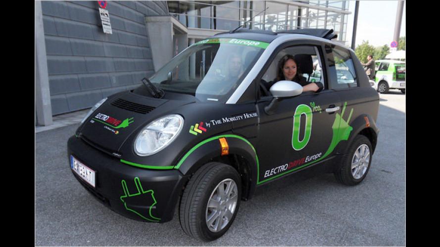 Radl, Roller und jetzt auch Autos: Elektromobil in Salzburg